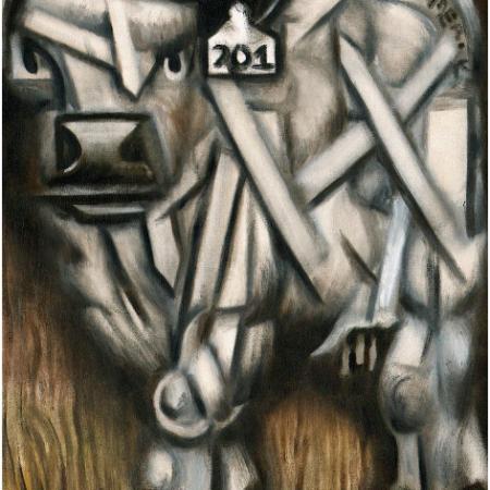 bull paintings