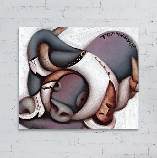 bull riding wall art