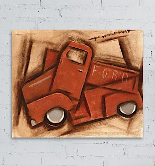 classic truck art