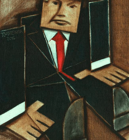donald trump paintings