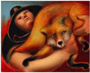 fox paintings