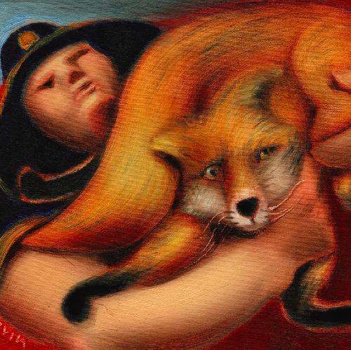 fox paintings