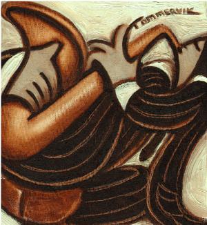 jazz musician paintings