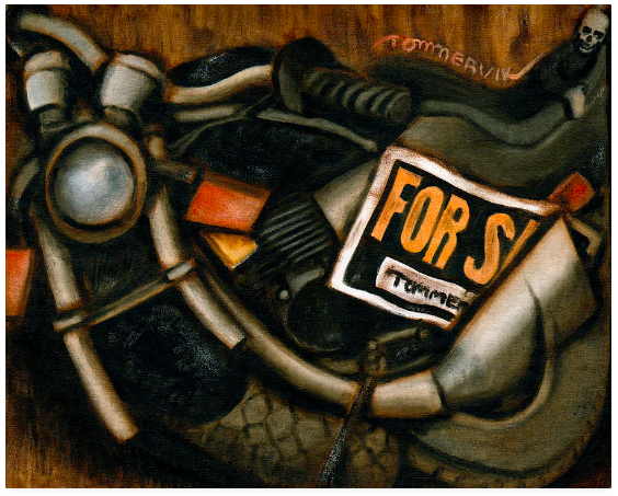Tommervik Used Motorcycle For Sale Painting