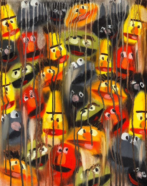 MUPPETS DRIP PAINTING NO. 25 (1)