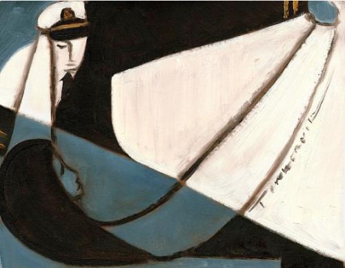 sea captain wall art