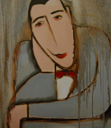 pee-wee herman art