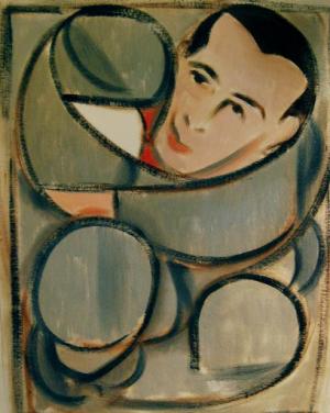 pee-wee herman paintings