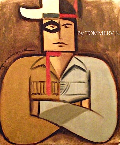 LONE RANGER AND TONTO PAINTING