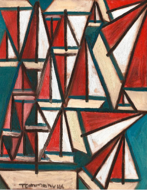 sailboat art