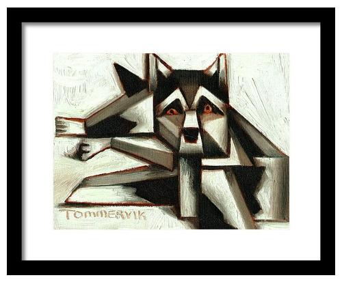 siberian husky wall art