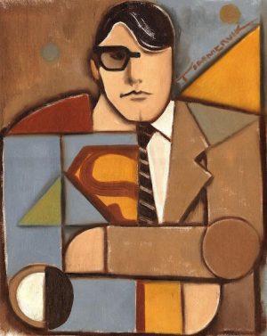superman paintings