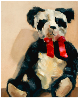 panda bear paintings