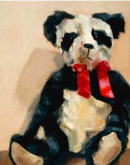 panda bear paintings