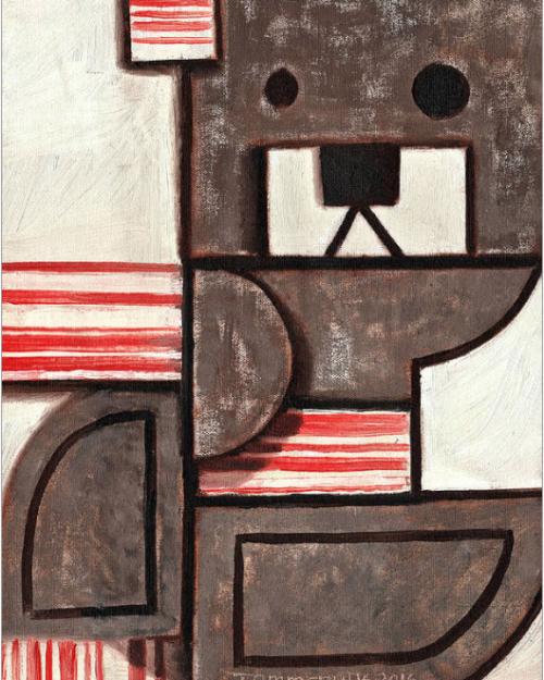 Bacon Bear Painting