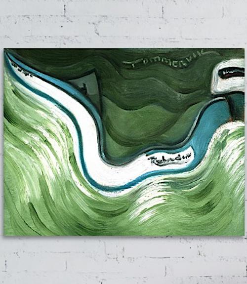 boat walll art