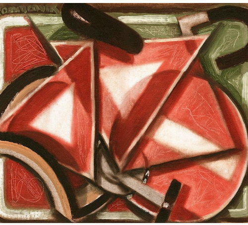 cycling artwork