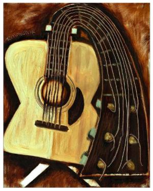 guitar arttwork