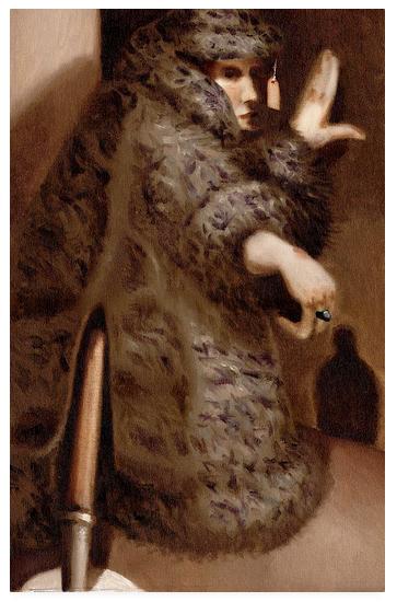 Tommervik Vintage Retail Storefront Mannequin Original Oil Painting