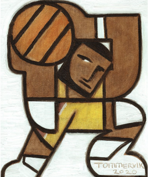 lebron james wall art