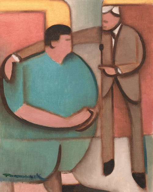 THE PRICE IS WRONG PAINTING
