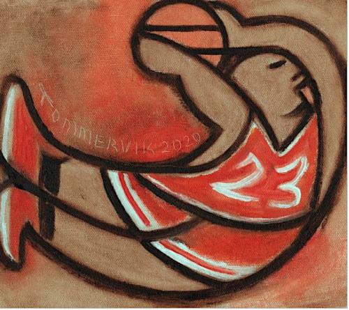 michael jordan paintings