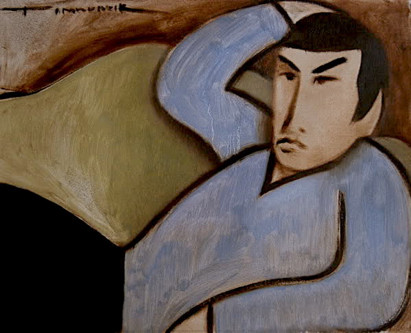 SPOCK RECLINE PAINTING