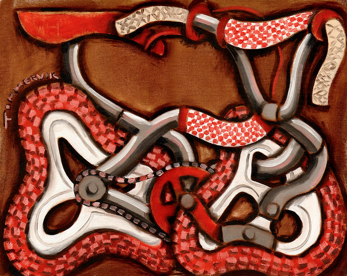 OLD SCHOOL BMX BIKE PAINTING5 (2)