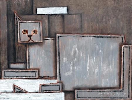 cat wall art