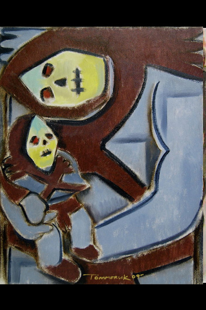 skeletor paintings