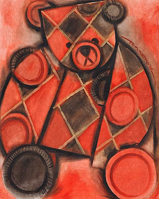 checkers art