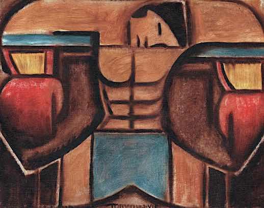 boxing artwork