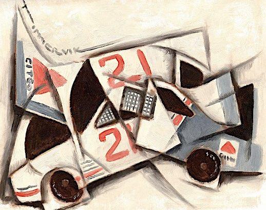 auto racing art