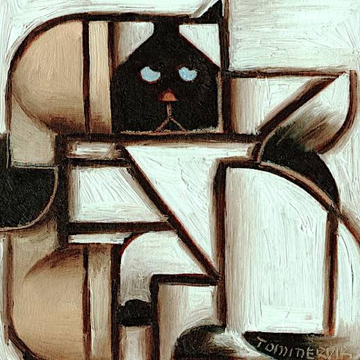 siamese cat artwork