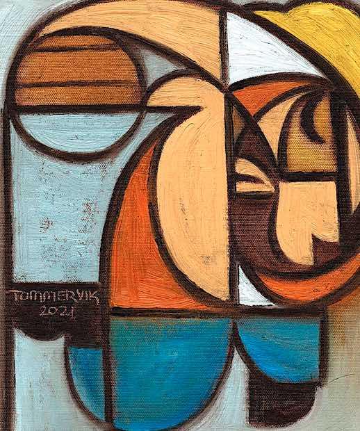 construction worker art