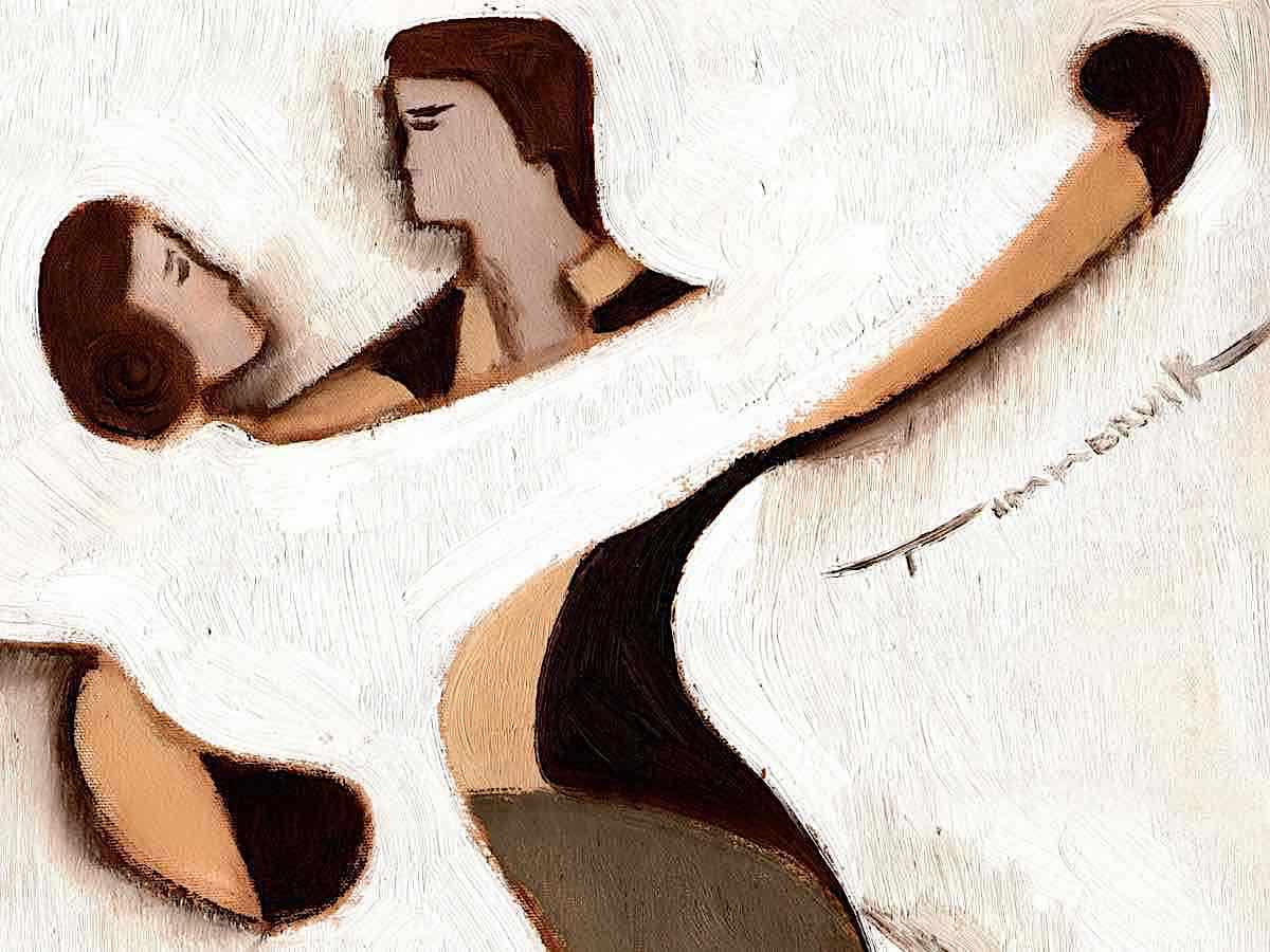 dance painting