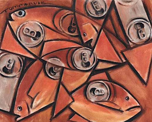 cubism fish