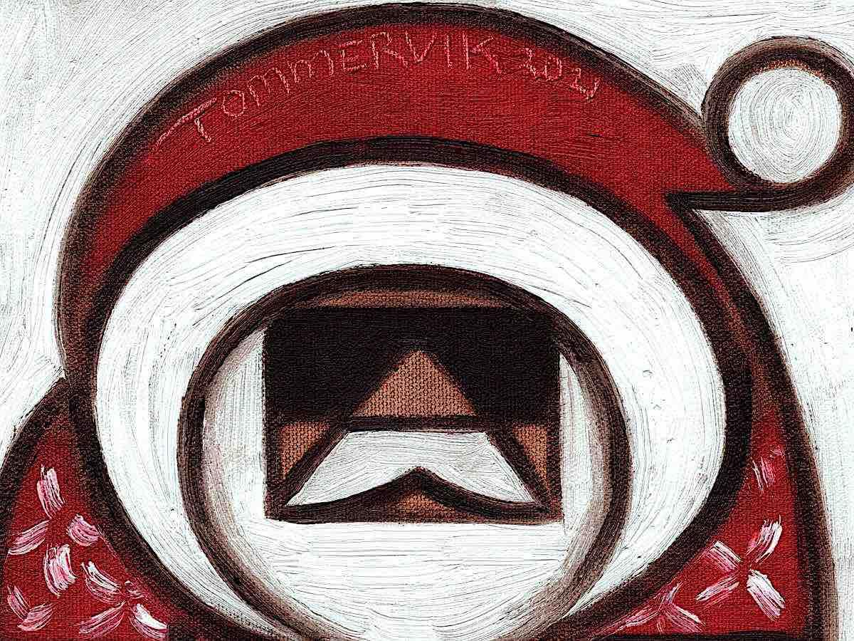 santa claus wall art