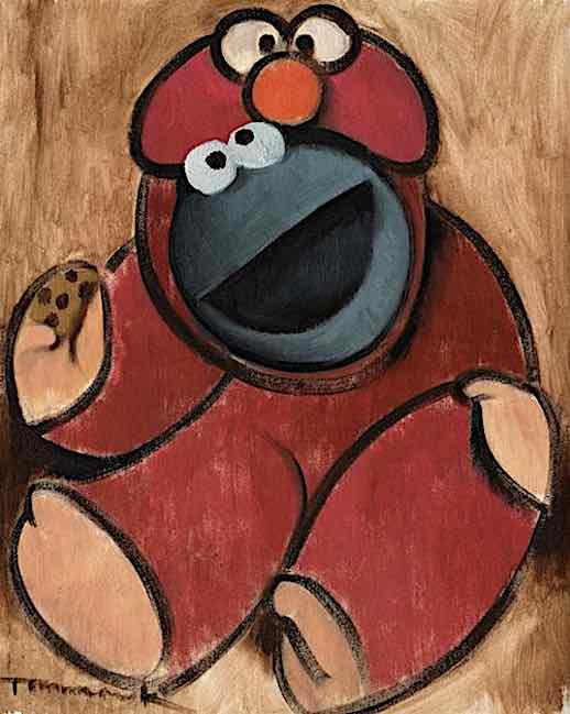 cookie monster art