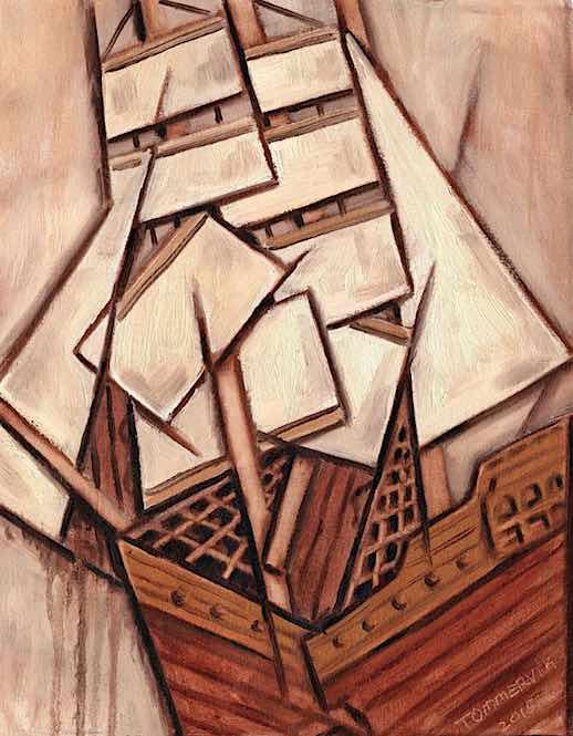 ship wall art