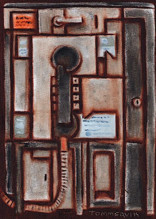 telephone art
