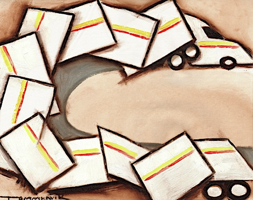 trucker art