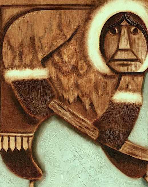 eskimo painting