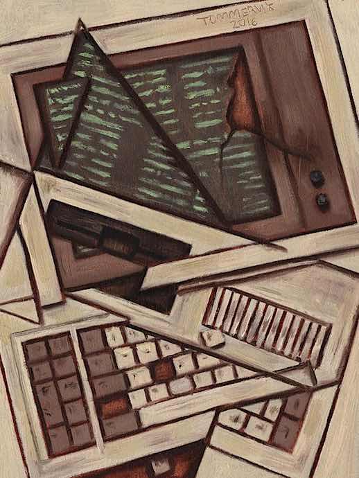 computer nerd art