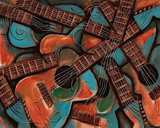 guitar artwork