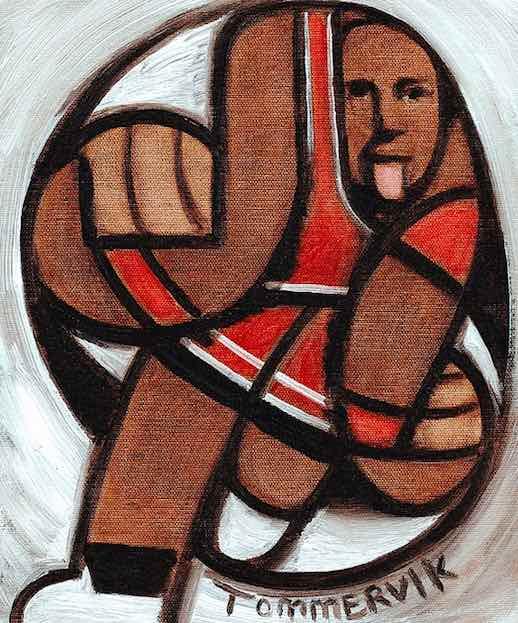 michael jordan painting